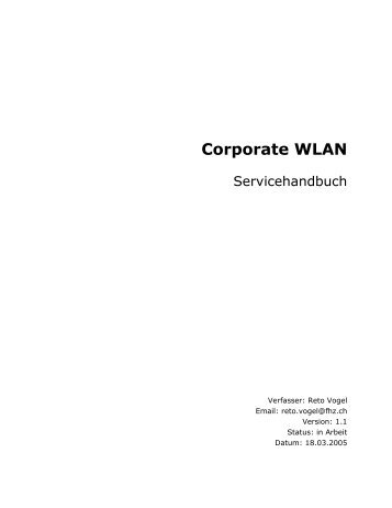 Microsoft Word Viewer - Servicehandbuch_v1_1 - ThomasGalliker.ch