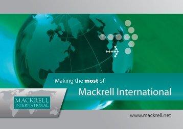Contents - Mackrell International