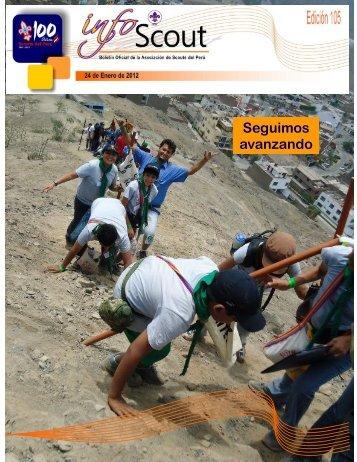 Info SCOUT 105 - Scouts del Perú