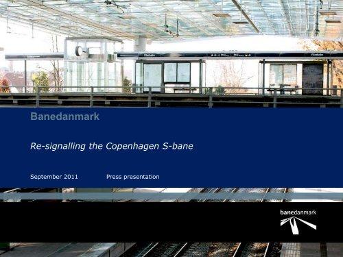 Banedanmark Re-signalling the Copenhagen S-bane