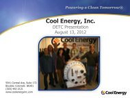presentation slides - Clean Technology and Sustainable Industries ...