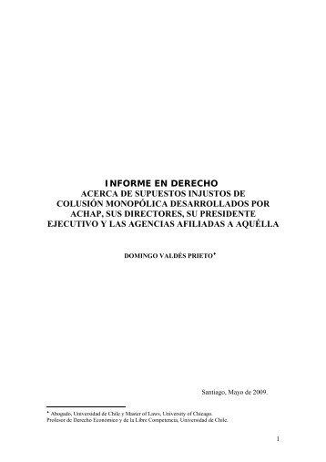 (ACHAP).pdf - Tribunal de Defensa de la Libre Competencia
