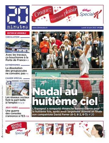 Nadal au huitième ciel - 20minutes.fr