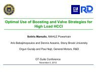 Optimal Use of Boosting and Valve Strategies for High Load HCCI