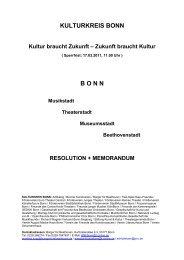Memorandum - Stephan Eisel