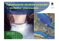 Ograniczanie skutków powodzi – technika i planowanie