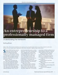 to view the article - Paradigm Associates