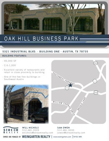 OAK HILL BUSINESS PARK