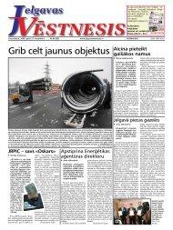 2008. gada 27. novembris. Nr.48(80) - Jelgavas Vēstnesis