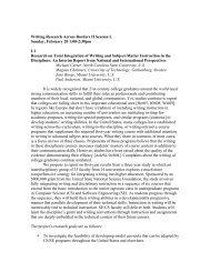 Writing Research Across Borders II Session L ... - Writing Program