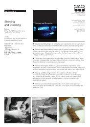 Sleeping and Dreaming - Black Dog Publishing