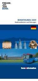 BONNTOUREN 2009 - Bonn Region