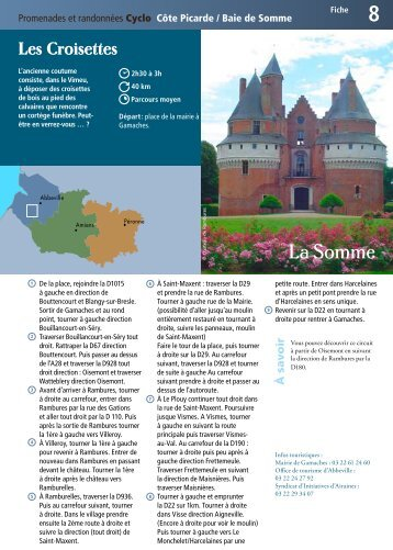 Fiche 8 - Somme Tourisme
