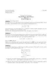 ¨Ubungen zur Vorlesung Randomisierte Algorithmen Blatt 4 ...