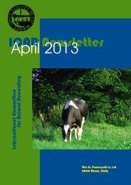 ICAR Newsletter - April 2013