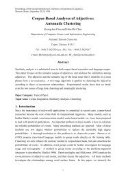 Corpus-Based Analyses of Adjectives: Automatic Clustering