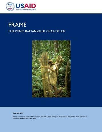 PHILIPPINES RATTAN VALUE CHAIN STUDY - Aboutphilippines