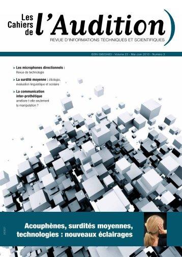 Télécharger le PDF complet N°3 Année 2010 - Collège National d ...