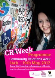 CR Week - Derry City Council