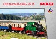 Piko Herbstneuheiten 2013 als Flyer
