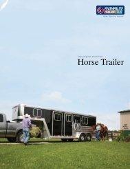2007 Horse Trailer Brochure - Rvguidebook.com