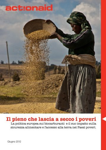 Il pieno che lascia a secco i poveri - ActionAid