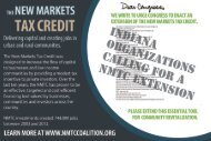 New Markets Tax Credit in Indiana - New Markets Tax Credit Coalition