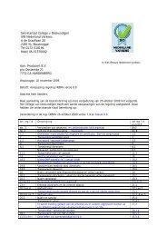 Aanpassing regeling IKBNV versie 8.0 - DGB energie