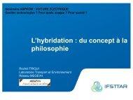 L' hybridation : du concept à la philosophie - Asprom