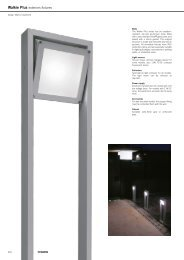 Walkie Plus exteriors fixtures - Martini