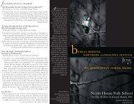 bOREAL BIRDING - North House Folk School