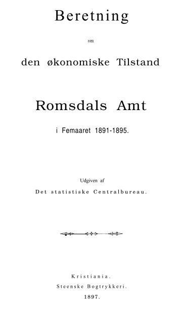 Beretning - Romsdal Sogelag