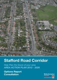 Stafford Road Corridor Area Action Plan