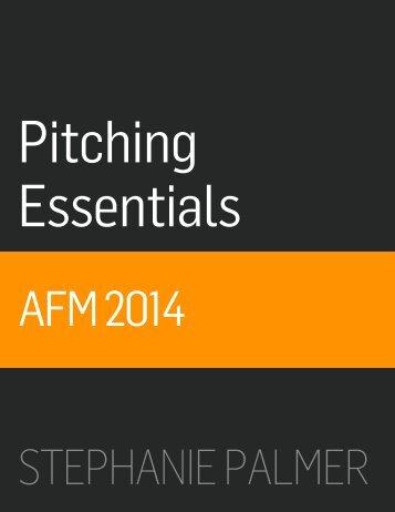 AFM2014_PitchEssentials