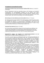 Vortragsthemen des Geodätischen Instituts - Institut für Navigation