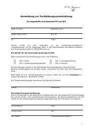 Anmeldeformular zu Angestelltentag am 18 ... - PTK Bayern