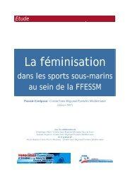 Rapport d'étude sur la - Comité Pyrénées-Méditerranée