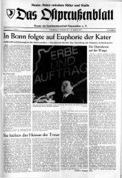 In Bonn folgte auf Euphorie der Kater - Archiv Preussische ...