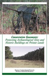 Conservation Easements: Protecting Archaeological Sites and ...