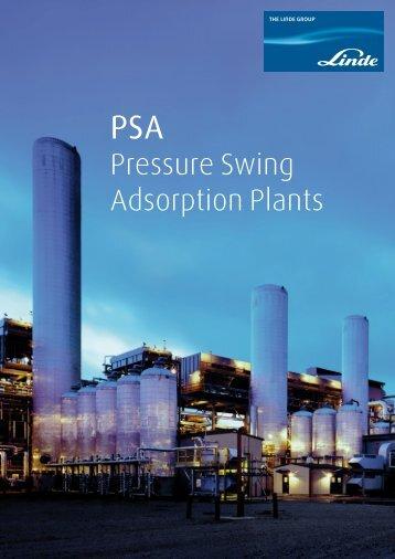 Pressure Swing Adsorption Plants - Linde Engineering
