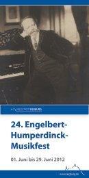 24. Engelbert- Humperdinck- Musikfest - Siegburg