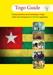 Togo Guide - ACP Business Climate