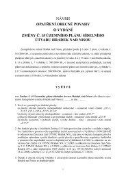opatření obecné povahy o vydání změny č. 15 územního plánu ...