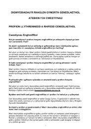 Profion Llythrennedd a Rhifedd Cenedlaethol - Learning Wales