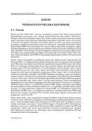 BAB III PENDAPATAN NEGARA DAN HIBAH - Direktorat Jenderal ...