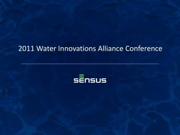 Peter Mainz - Water Innovations Alliance