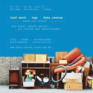flyer - lauf.werk . tmp . data.rescue - tmp