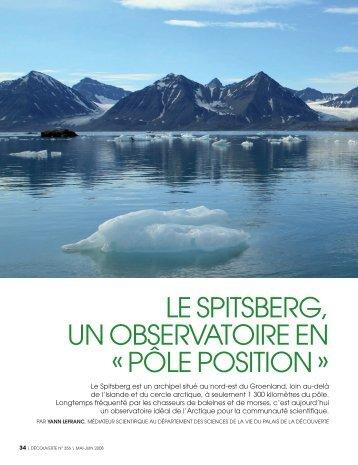 """""""pôle position"""" », par Yann LEFRANC, mai-juin 2008, p 34-43"""