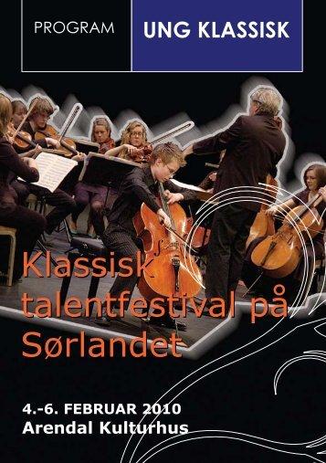 ung klassisk - Arendal kommune
