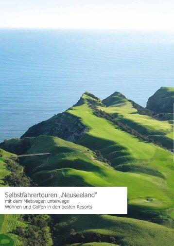 """Selbstfahrertouren """"Neuseeland"""""""